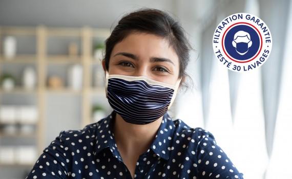 Personnalisez votre masque en tissu