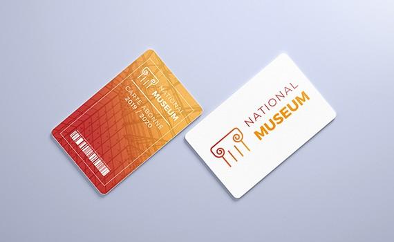 Carte PVC  570X350