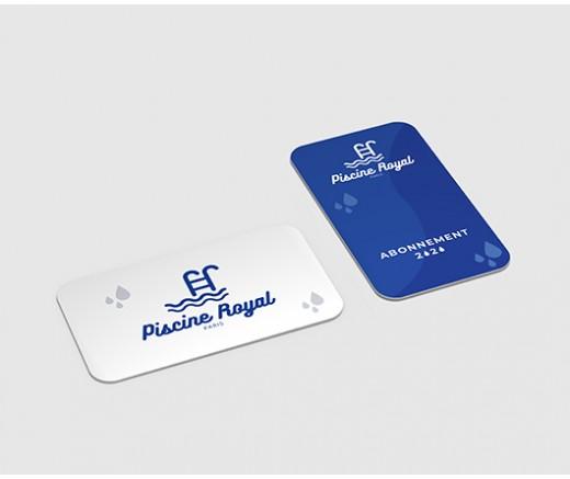 Carte PVC  530X437