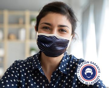 Masques en tissu personnalisables