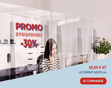 Promo -30% Hygiaphone 50x70 cm