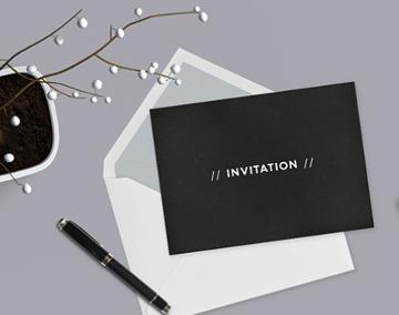 Cartes et invitations