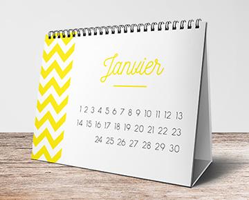 Votre calendrier chevalet