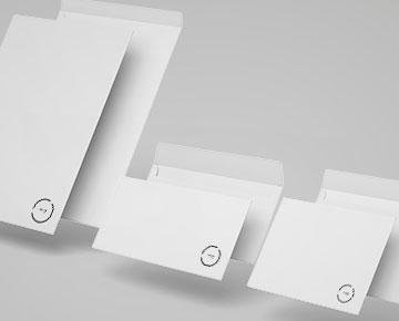 Des enveloppes personnalisées
