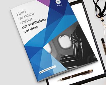 Imprimez vos brochures agrafées