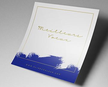 Offrez une carte de vœux originale