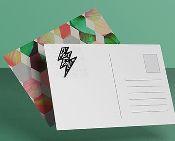 Vos cartes postales personnalisées