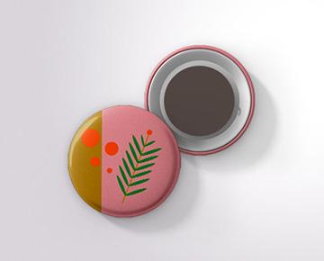 Créez vos magnets rigides ronds