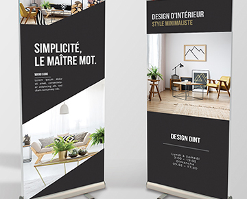 Le roll-up XL 100x200 cm