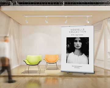 Le roll-up XL 150x200 cm