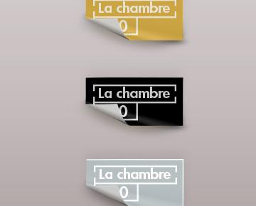 Des stickers rectangulaires personnalisés
