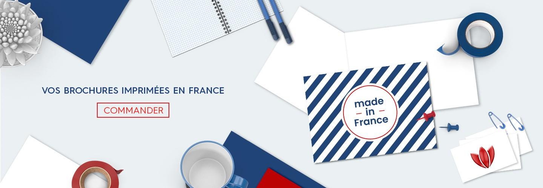 Vos brochures imprimées en France
